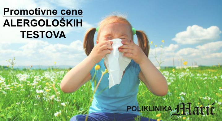 Promotivne cene alergoloskih testova
