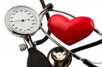 Blood-pressure-meter-and-heart